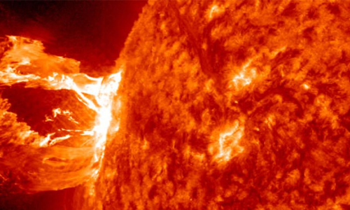 Could Earth Be Carbonized by Solar SuperFlares ?